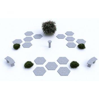 Cavurne Dalle Hexagonale 1